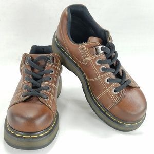 Dr Doc Martens 9806 Unisex Platform Oxfords Shoes